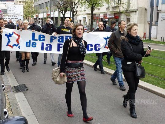 Dijon : Le Parti de la France était dans la rue pour un nouveau Jour de Colère