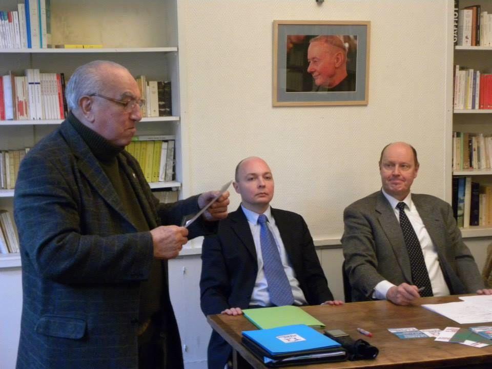 Samedi 7 février, le Conseil National du Parti de la France s'est réuni à Paris