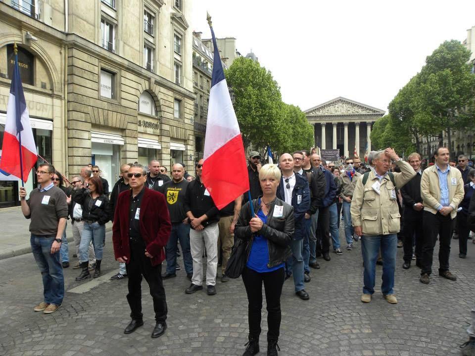 Le Parti de la France a rendu hommage à Jeanne d'Arc dimanche 10 mai 2015