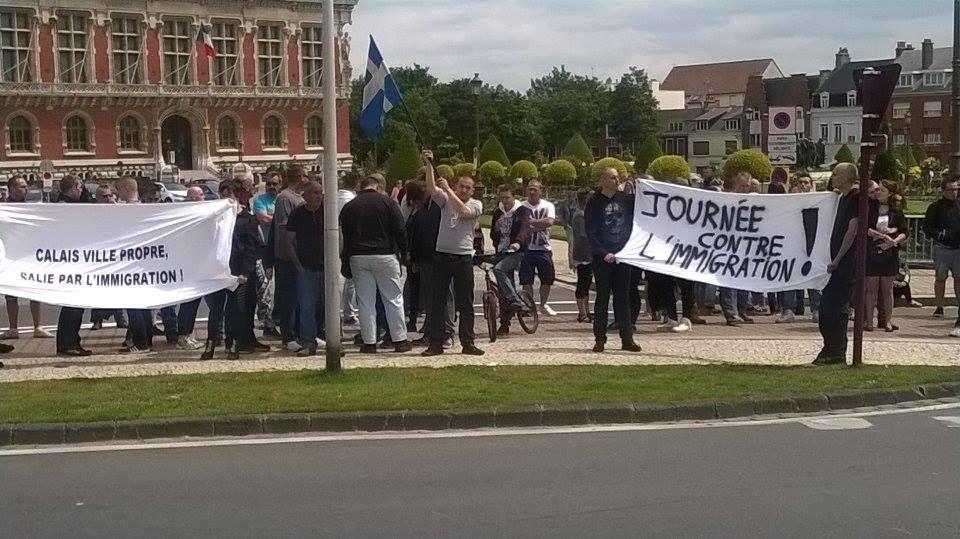 Succès de la contre-manifestation de Sauvons Calais face à la provocation pro-migrants