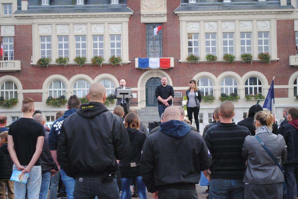 Compte-rendu du Rassemblement du 10/10/15 à Albert contre l'accueil de clandestins