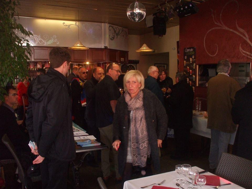Succès du déjeuner avec Carl Lang à Limoges dimanche 22 novembre