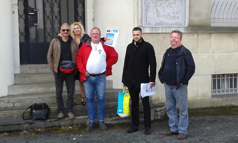 Le Parti de la France mobilisé contre l'arrivée de clandestins à Buzançais (36)