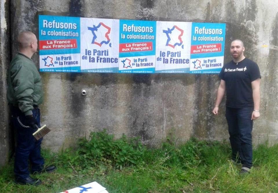 Verosvres (71) : les militants du Parti de la France sur le terrain pour dire « Non aux migrants ! »
