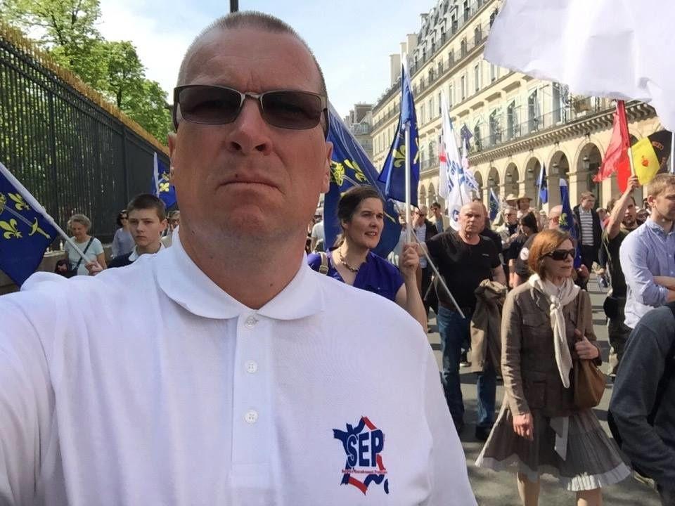 Honneur au SEP, le service d'ordre du Parti de la France