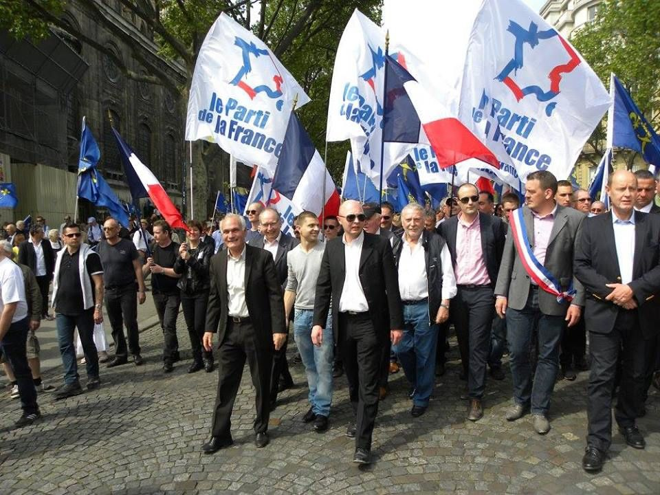 Le Parti de la France a honoré Jeanne d'Arc dimanche 8 mai 2016