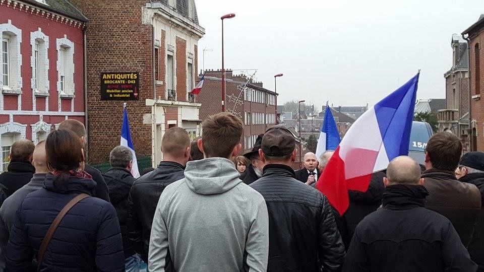 Compte-rendu du rassemblement anti-migrants à Péronne le 26/11/16