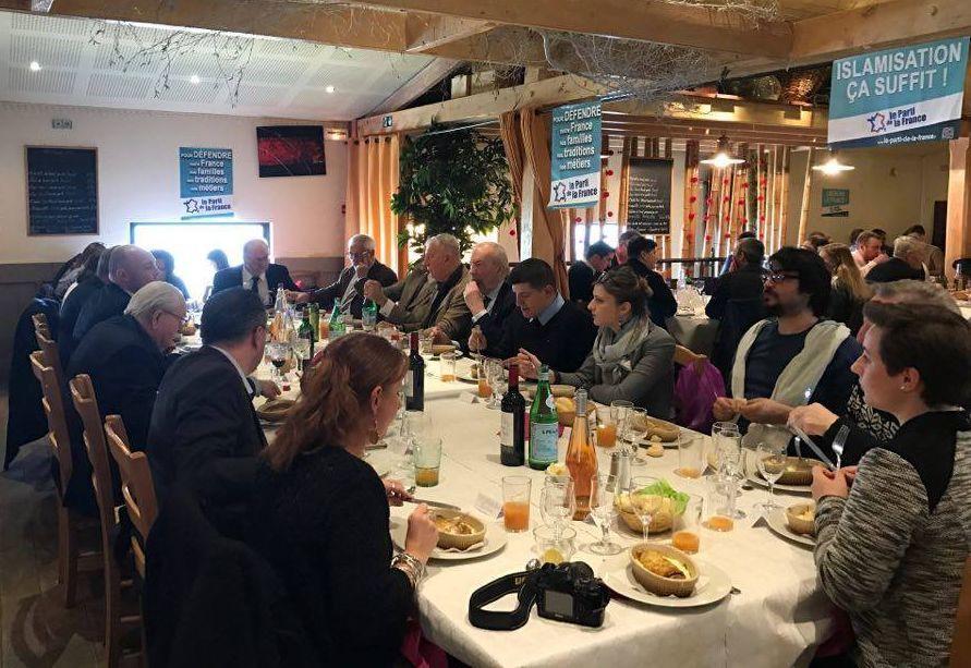 Compte-rendu du déjeuner patriotique à Amiens avec Jean-Marie Le Pen