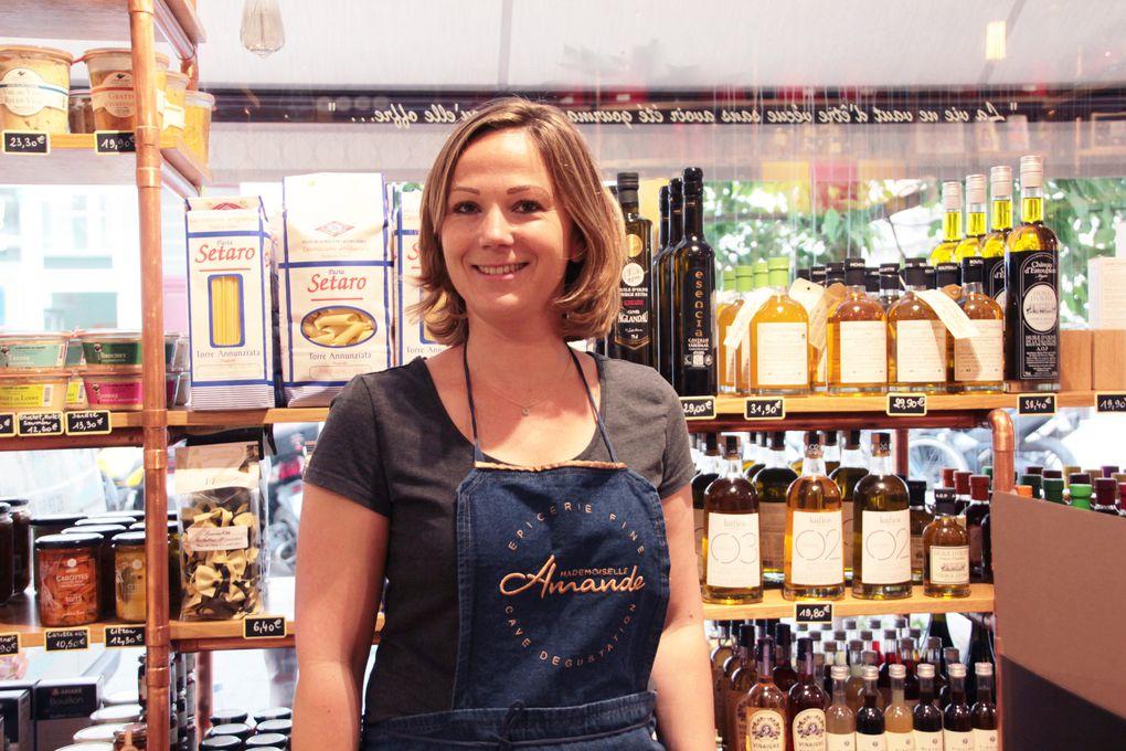 Chez Mademoiselle Amande, une épicerie fine comme je les aime