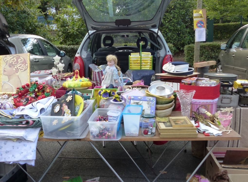 Photos brocante 2016 de Cergy Village