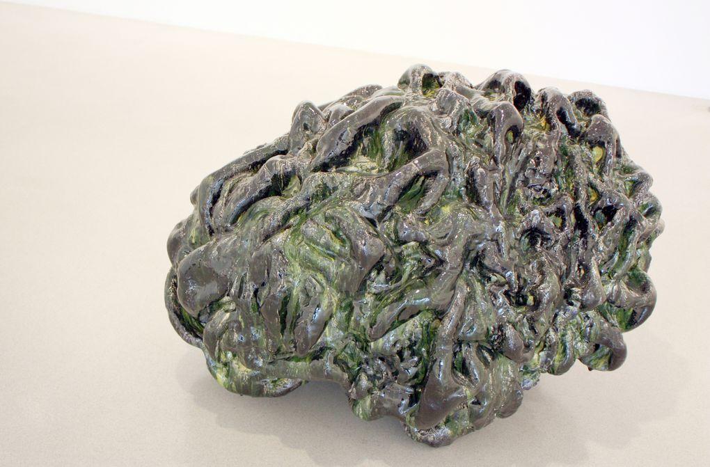 Expo Sculpture Contemporaine: Richard DEACON   &quot&#x3B;ALPHABET, SCULPTURES &amp&#x3B; DESSINS&quot&#x3B;