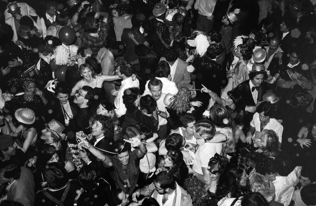 """Studio 54, New York 1978-1980"" de Tod Papageorge (Galerie Thomas Zander) © Photo Eric Simon"