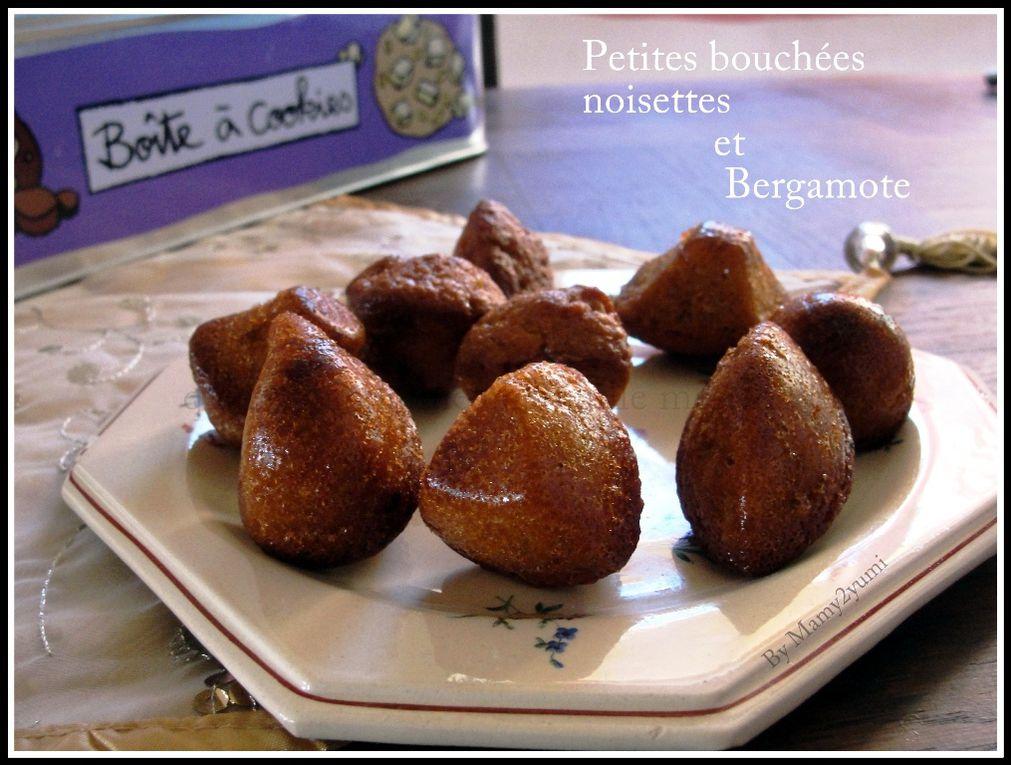 Bouchées noisettes et bergamote-Mamy2yumi.