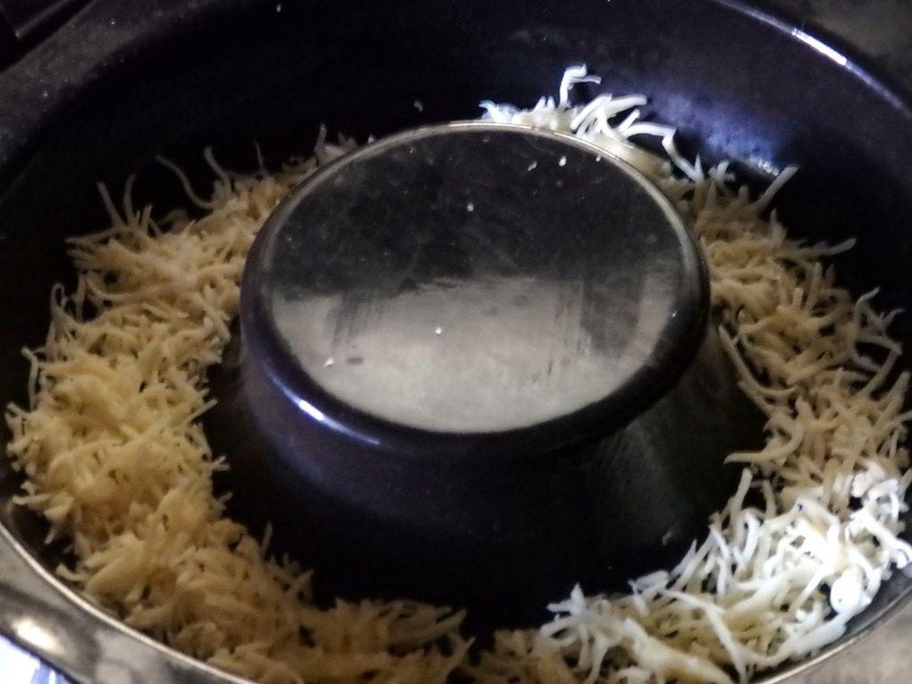 Flan de courgettes croquantes, cuisson vapeur/ Cook'in®.