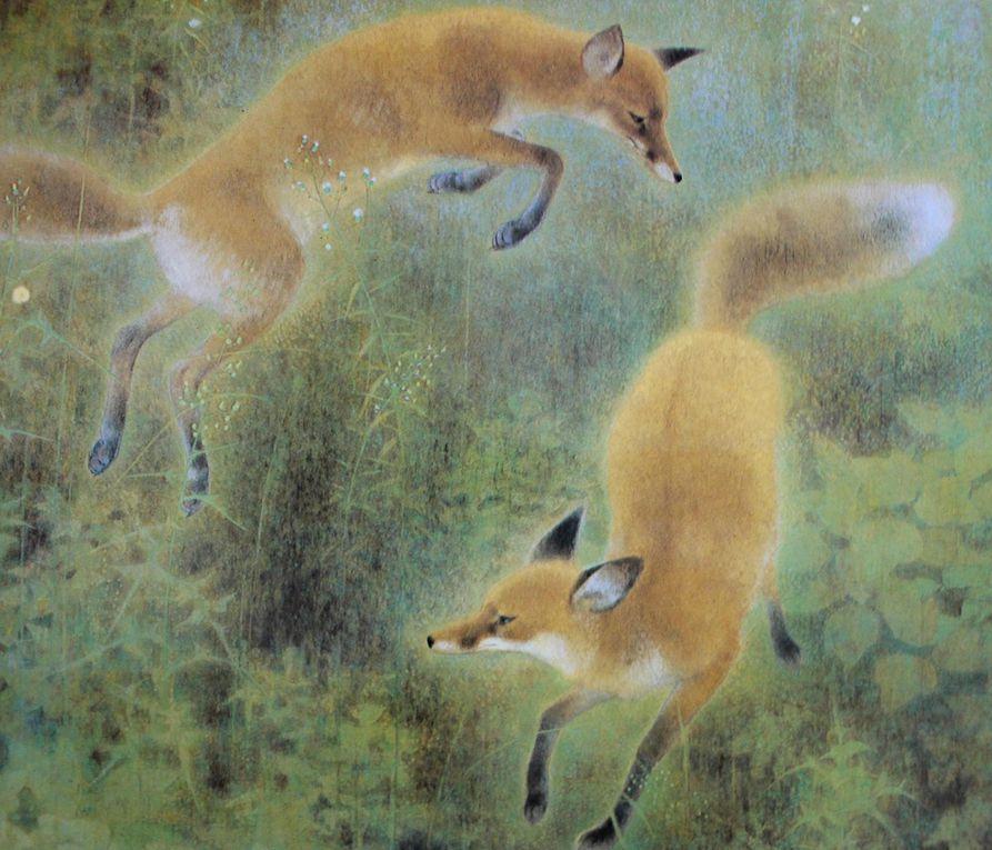 Les animaux de Yamaguchi Kayo