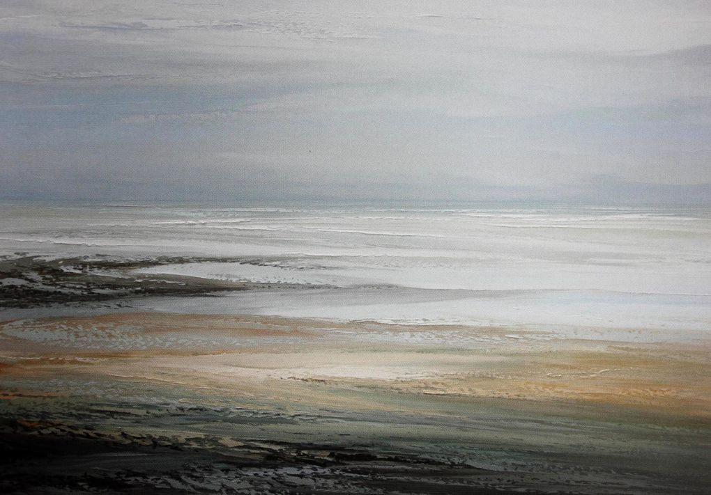 Jacques Dourlent. Paysages. Côte d'Opale.