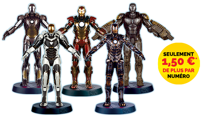 Marvel : les figurines des films