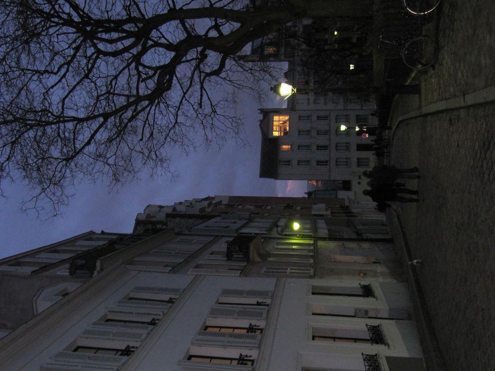 Montmartre : la rue Norvins
