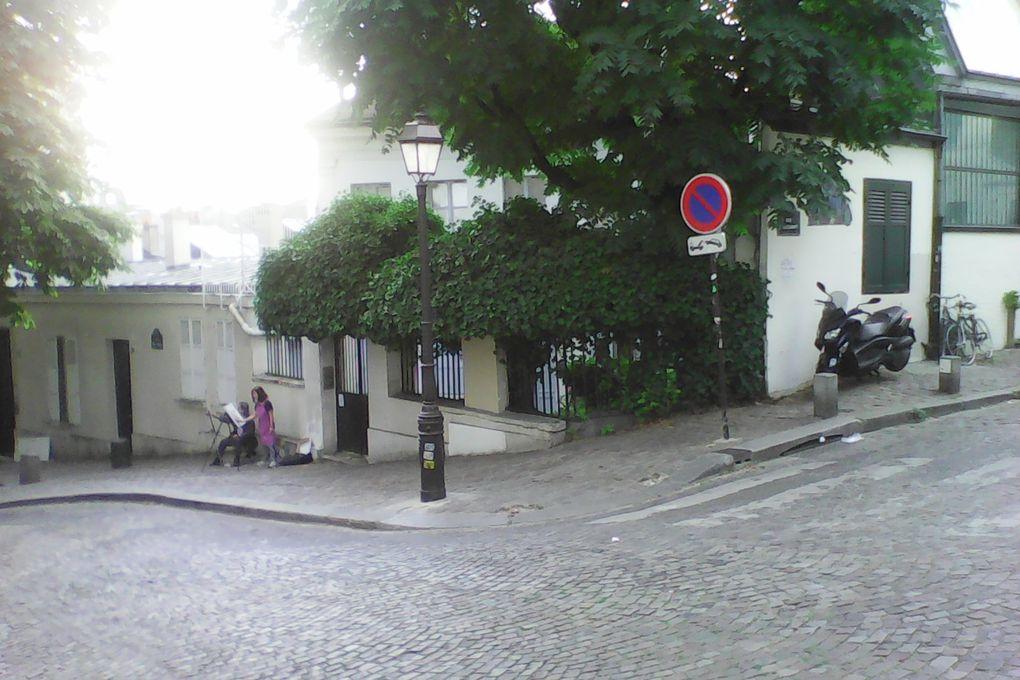 Soleil à Montmartre début septembre !