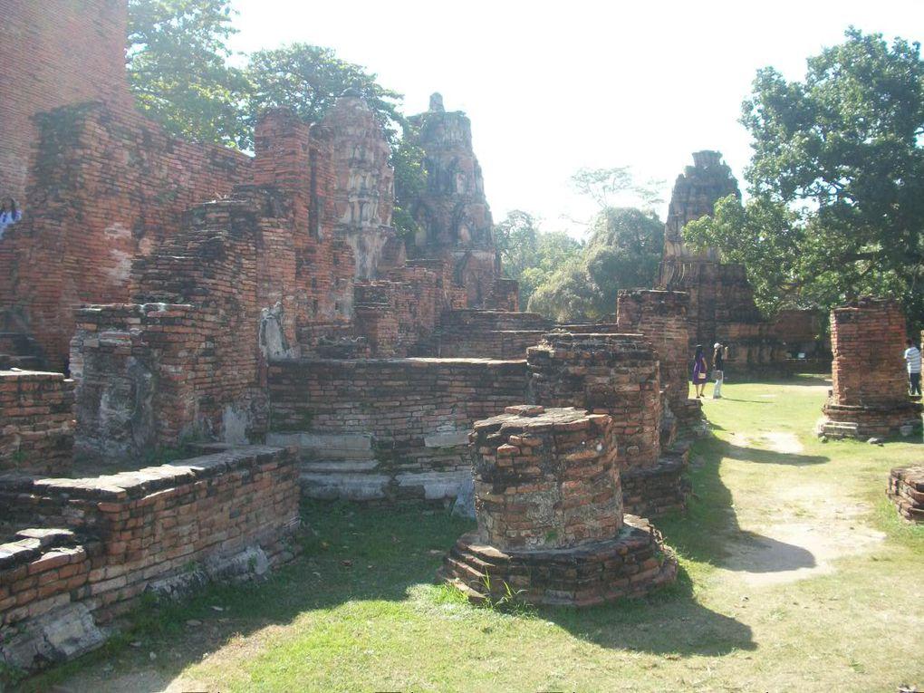 Thaïlande : Ayutthaya Wat Mahathat
