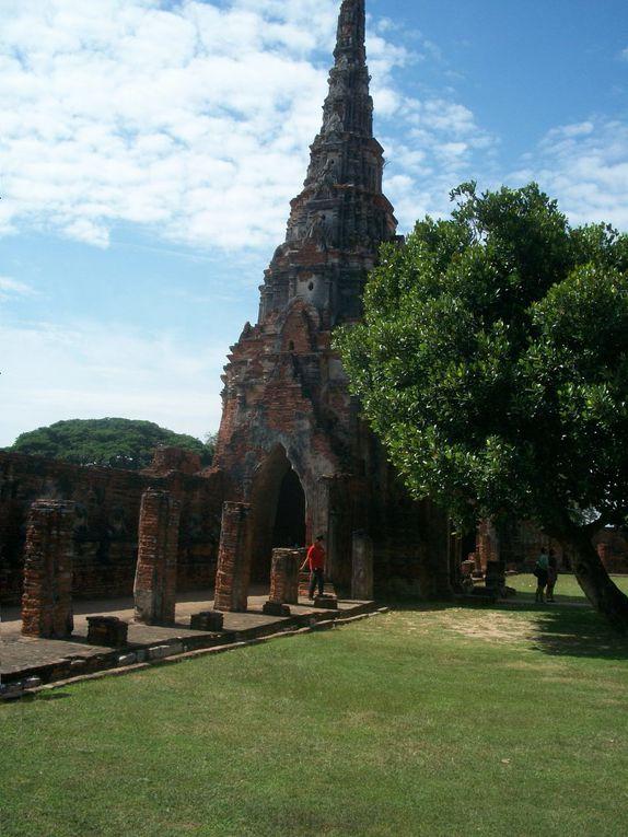 Thaïlande : Ayutthaya Wat watthanaram