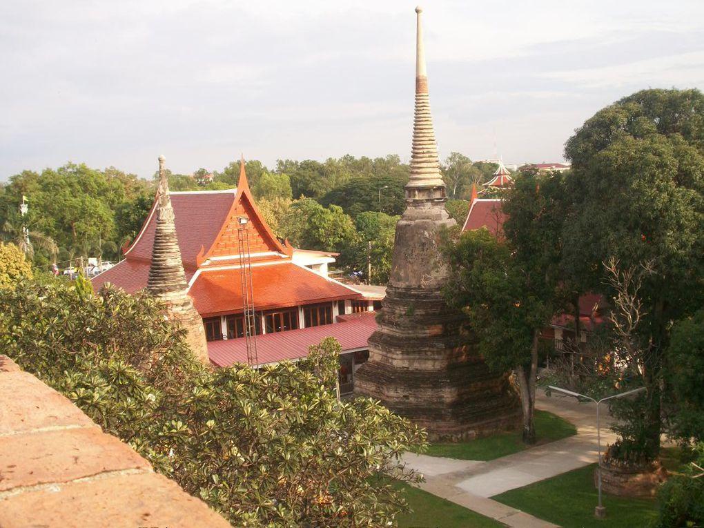Thaïlande : Ayutthaya _ Wat Yai Chai Mongkol