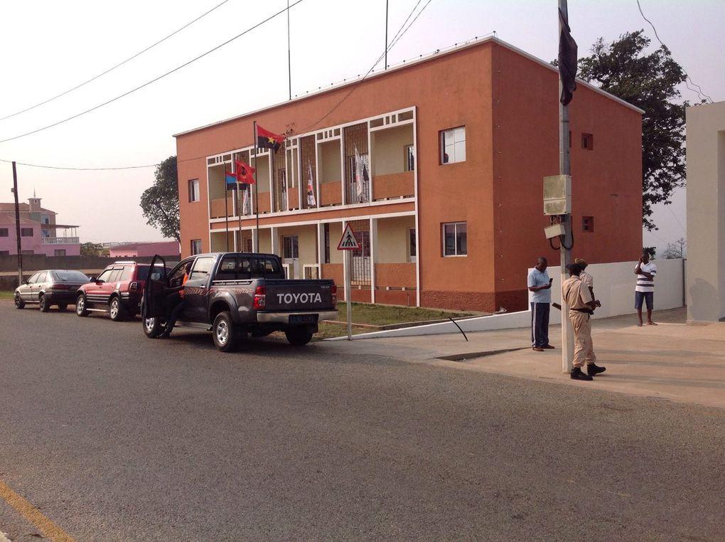 O balcão do BPC, foi inaugurado na Damba