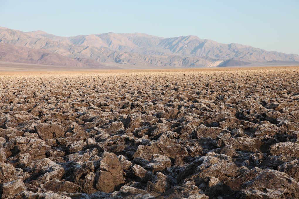 Devil's golf course et Badwater