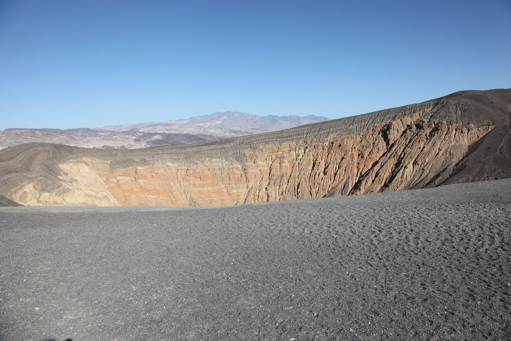 Unbehebe crater et Artist Road - La palette...