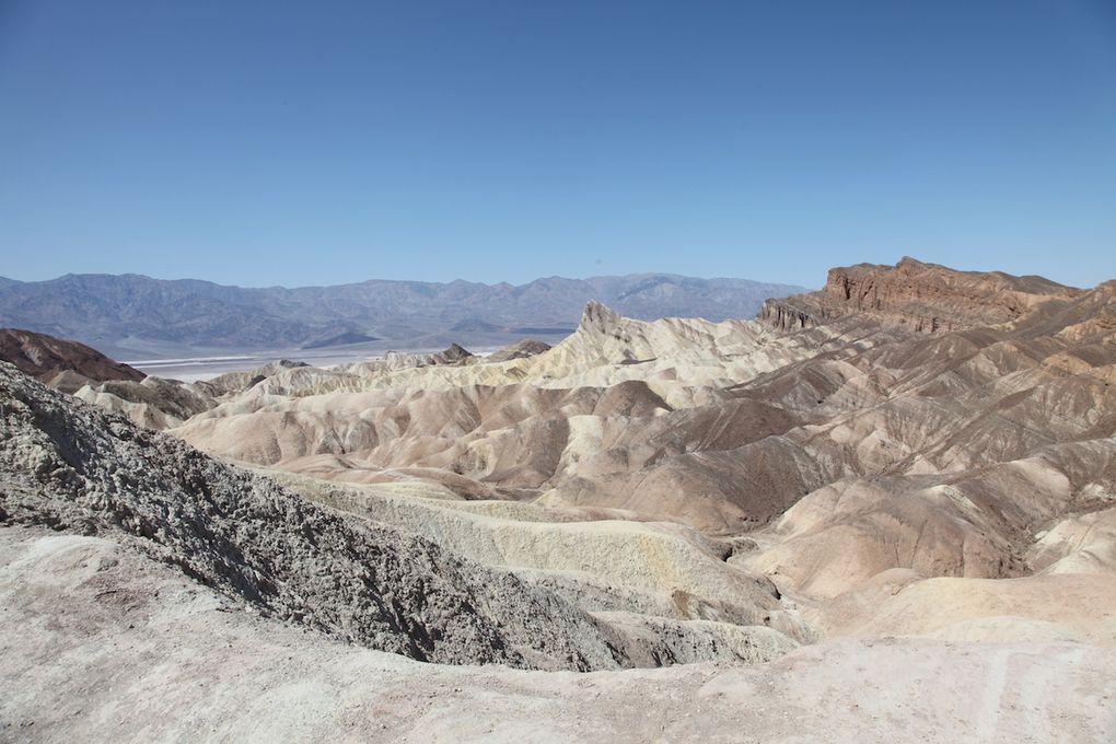 Dantes view et Zabriskie Point