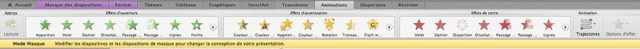Animation et transition dans PowerPoint