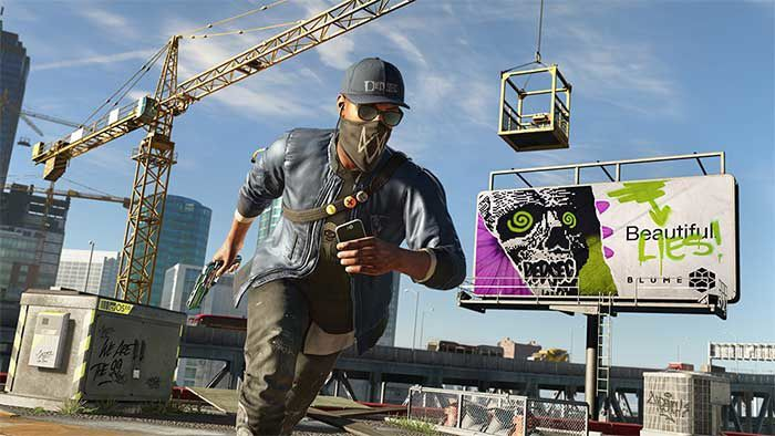 Jeux video: 10 minutes de Gameplay pour Watch Dogs 2 ! #PS4 #ONE