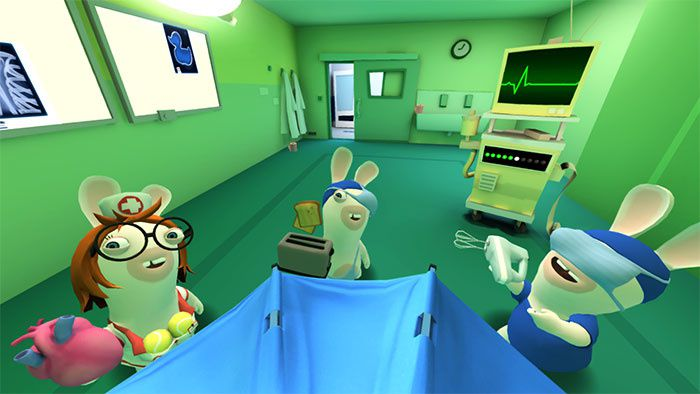 #Ubisoft dévoile Virtual Lapins Crétins : The Big Plan ! #VR