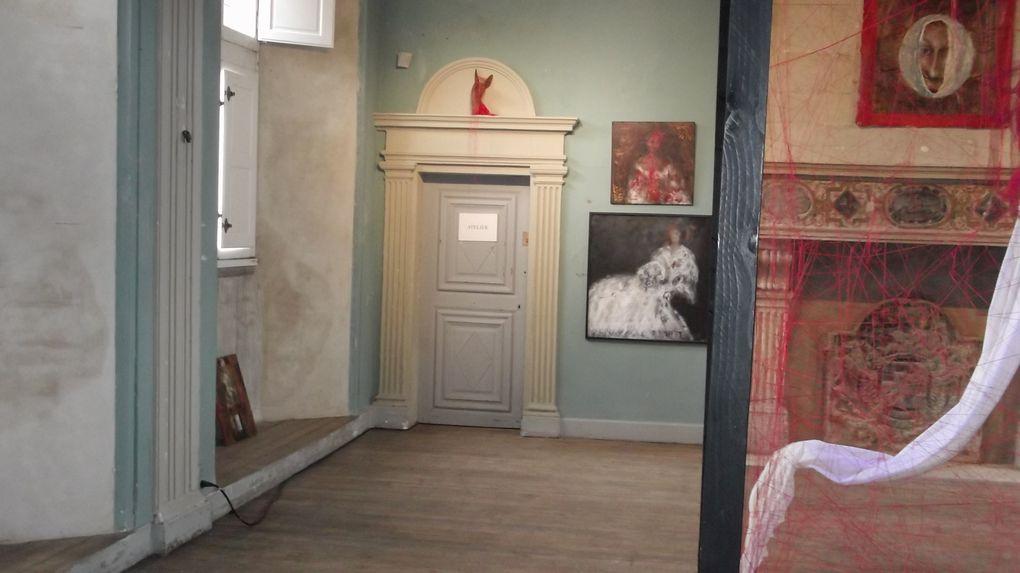 Château des Ravalet a #Tourlaville !! Exposition a l'interieur ! (c) cotentin webradio