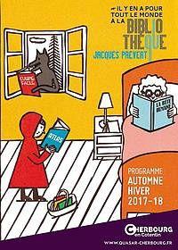 #Cherbourg : Découvrez le nouveau programme de la bibliothèque Jacques Prévert  Rentrée 2017 - 2018