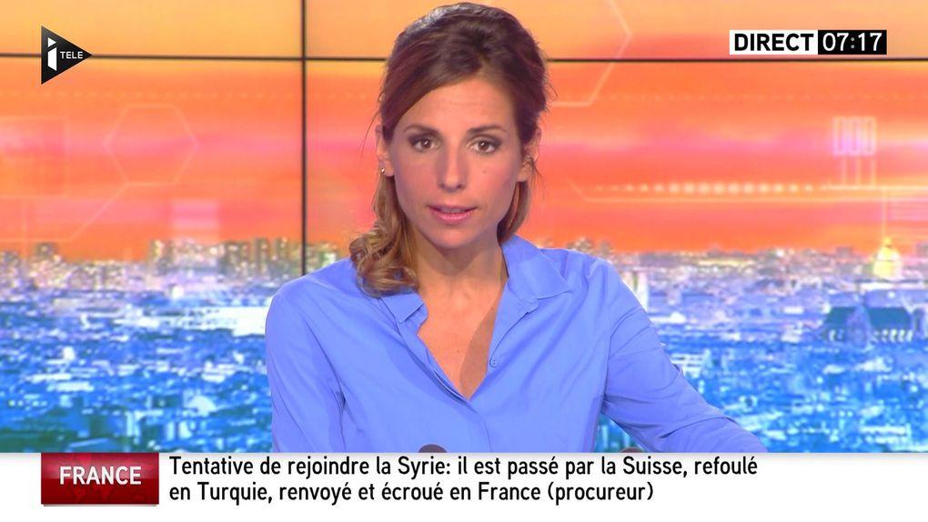 ALICE DARFEUILLE pour LA MATINALE INFO le 2016 07 27 sur i&gt&#x3B;tele