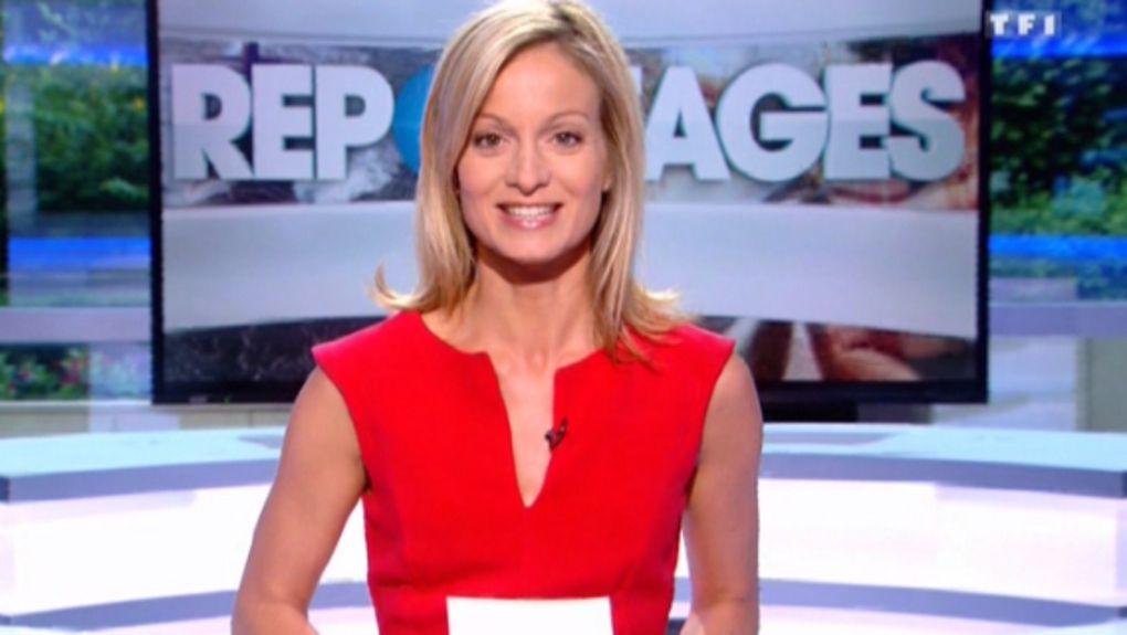 2015 08 15 - AUDREY CRESPO-MARA pour REPORTAGES sur tf1