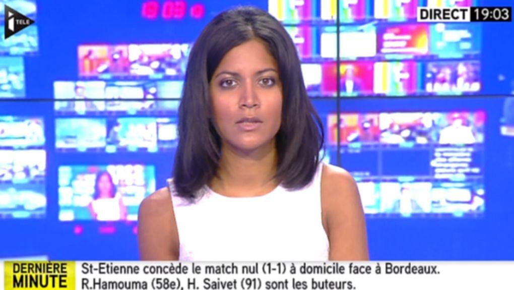 2015 08 15 - AURELIE CASSE pour L'ÉDITION DU SOIR sur i&gt&#x3B;tele