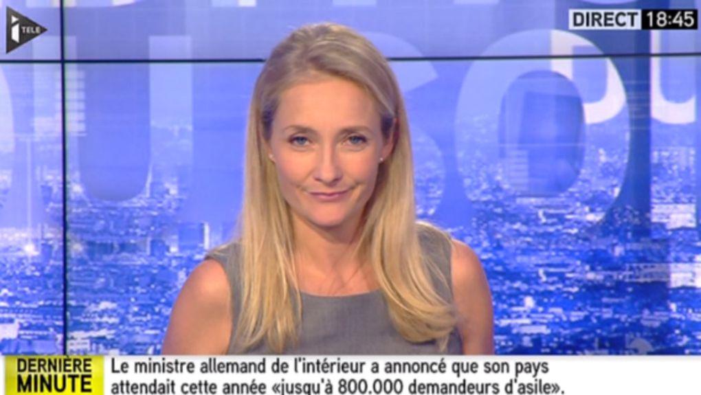 2015 08 19 - SOIZIC BOISARD pour L'ÉDITION DU SOIR sur i&gt&#x3B;tele