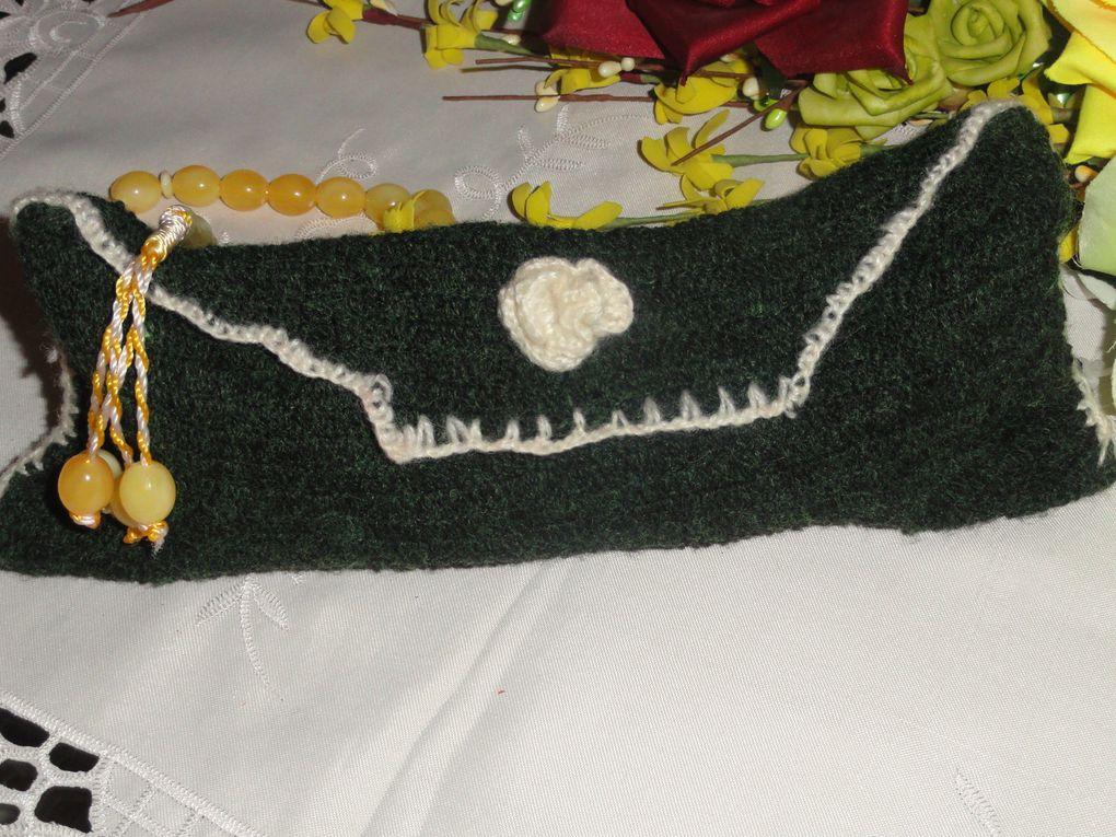 DIY, la pochette en laine de ma nièce Hind