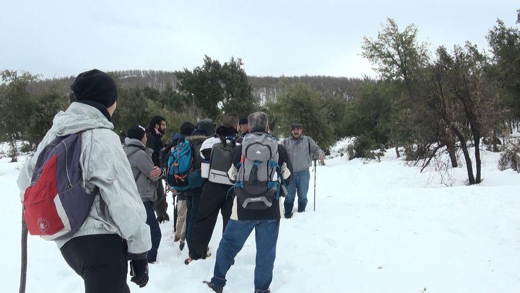 Randonnée sur la neige