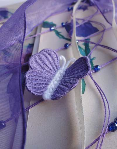 Broderies machine gratuites 124: papillons.