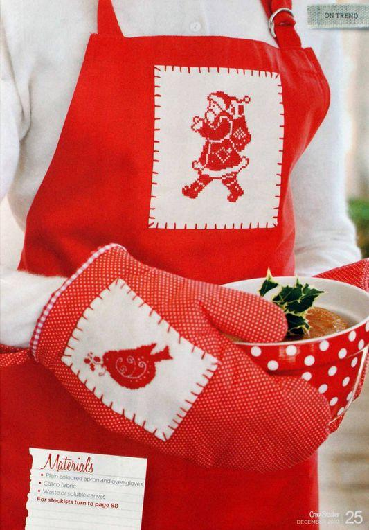 Joyeux Noël, en septembre, et en rouge et blanc !!!