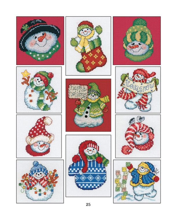 Broderies Noël gratuites 8