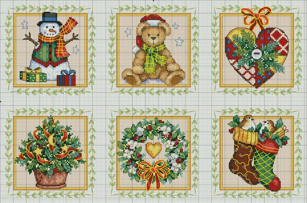 Grilles point de croix pour votre Noël féerique !