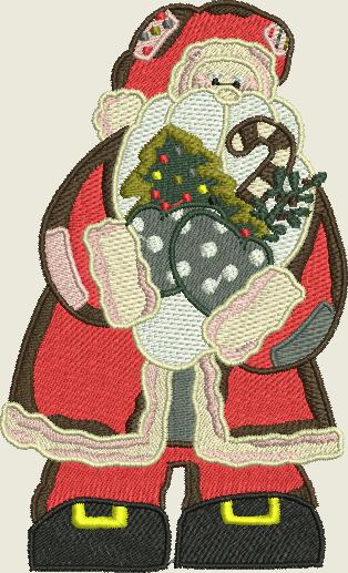 Broderies machine gratuites 169: votre Noël encore et encore !