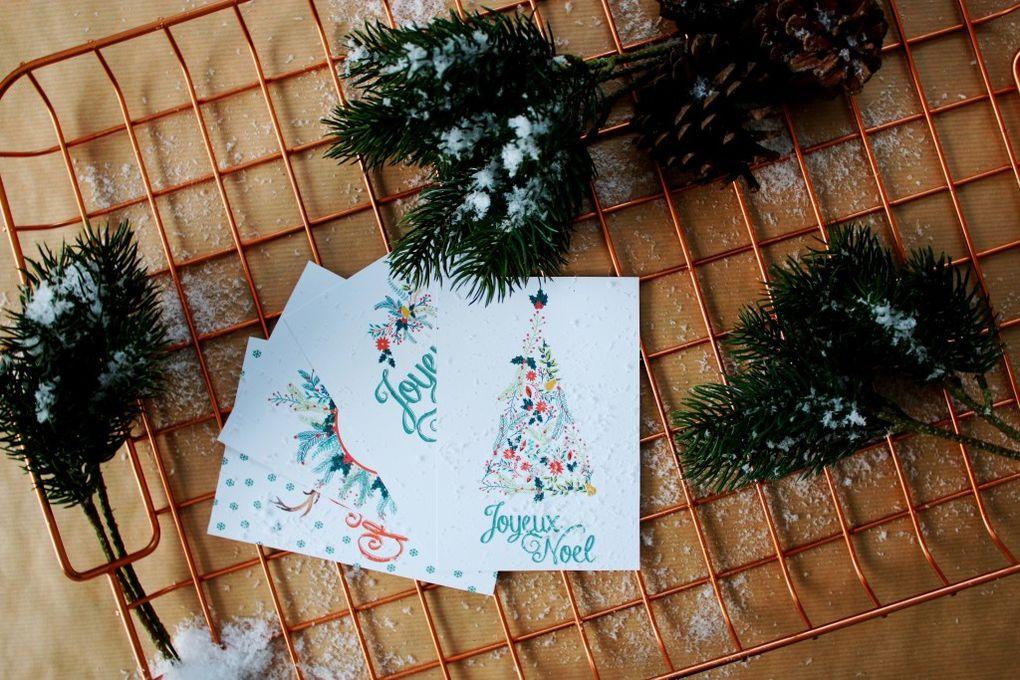 Cartes de Noël à télécharger