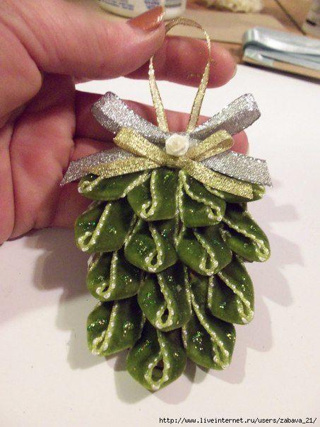 Une jolie décoration DIY pour accrocher dans le sapin !