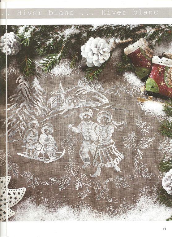 Grilles gratuites 33: Noël blanc, cœurs et épices et ABC...