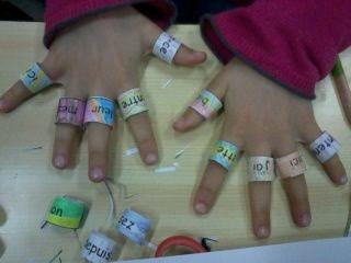 taoki: bagues des mots outils